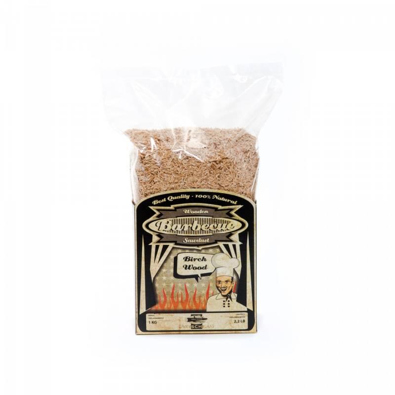 Axtschlag Räuchermehl (Saw Dust) 1kg Birch - Birke