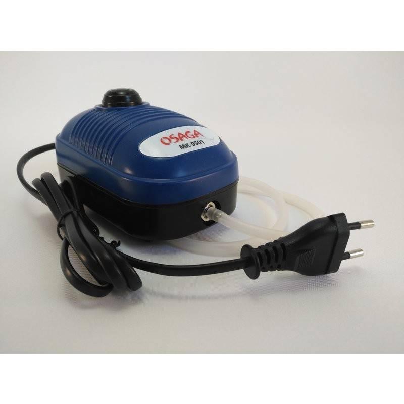 Smo-King Membranpumpe 230 Volt Anschluss und stufenlos regelbar