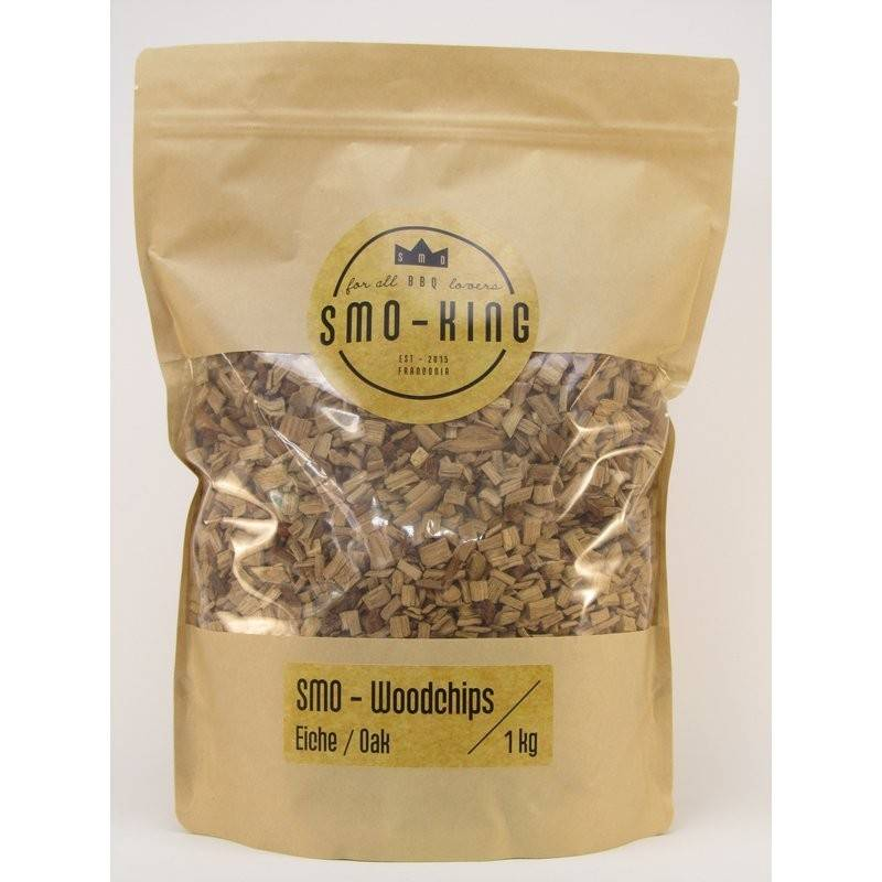 Smo-King Woodchips Eiche 1kg, 3-10mm