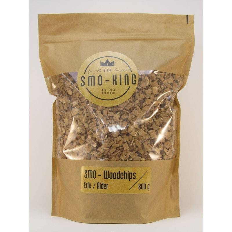 Smo-King Woodchips Erle 800g, 3-10mm