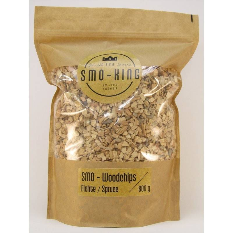 Smo-King Woodchips Fichte 800g, 3-10mm