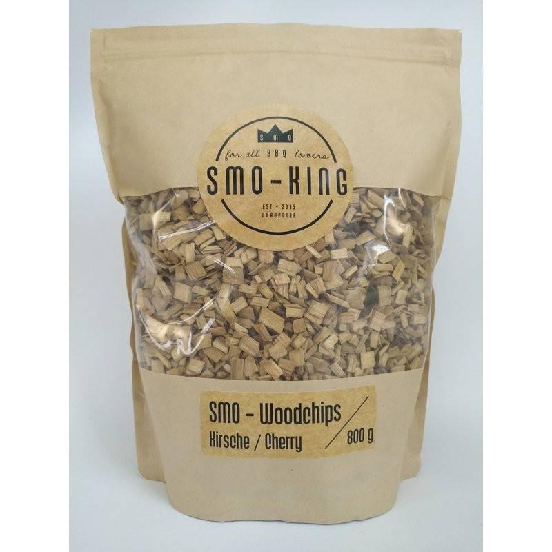 Smo-King Woodchips Kirsche 800g, 3-10mm