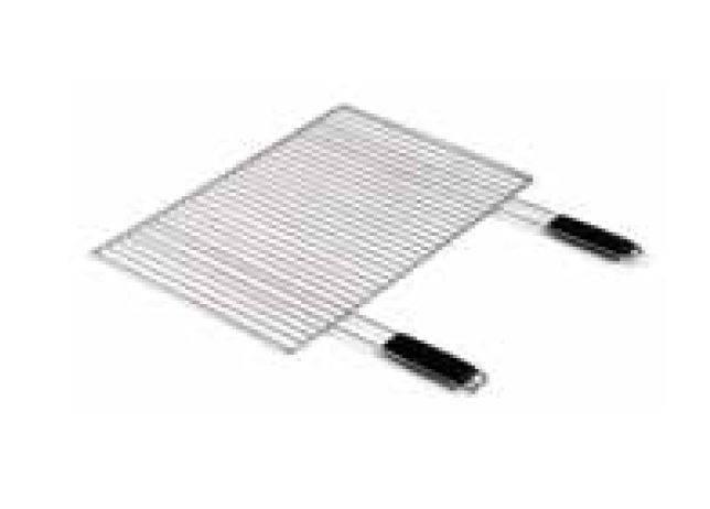 Verchromter Komfort-Grillrost  67 x 40 cm - Auslaufartikel