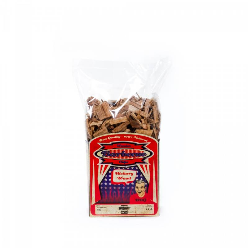 Axtschlag Räucherchips (Wood Chips) - Hickory 1kg
