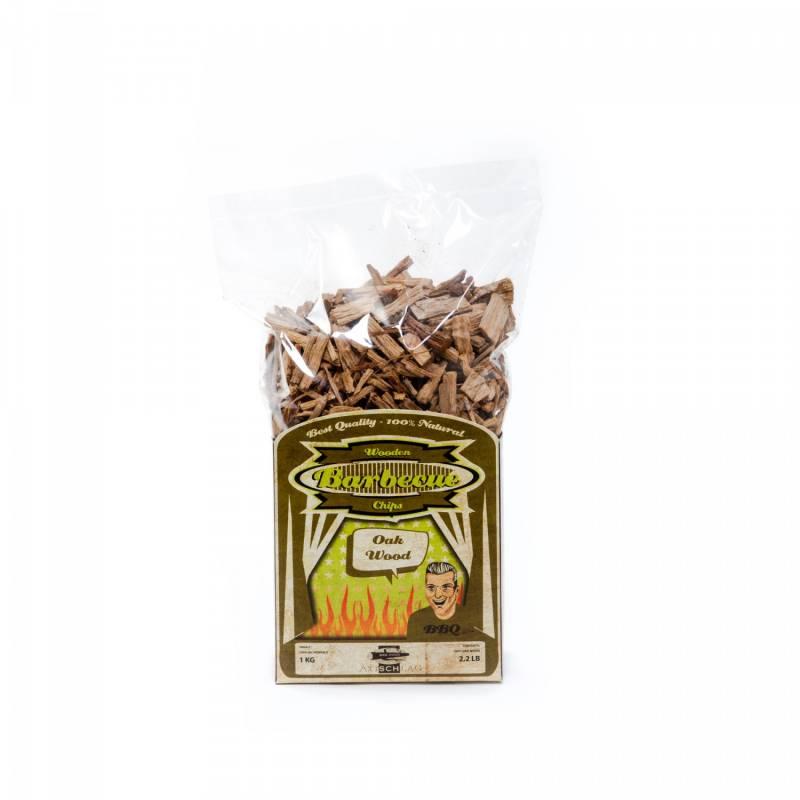 Axtschlag Räucherchips (Wood Chips) - Oak / Eiche 1kg