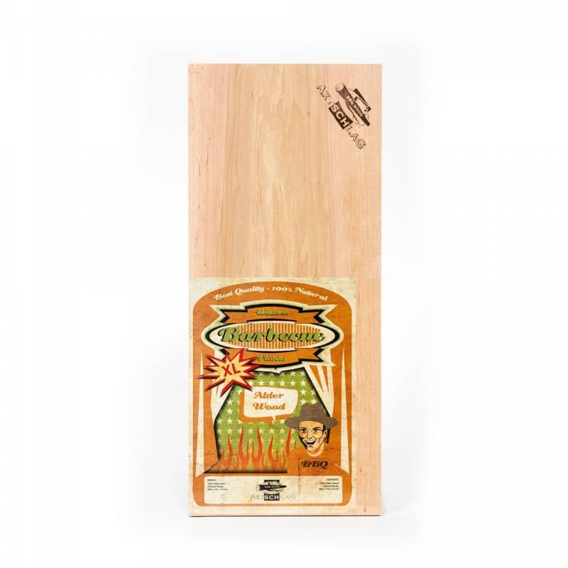 Auslaufartikel - Axtschlag Räucherbretter (Wood Planks) 2er Pack Alder - Erle XL 40 x 17cm