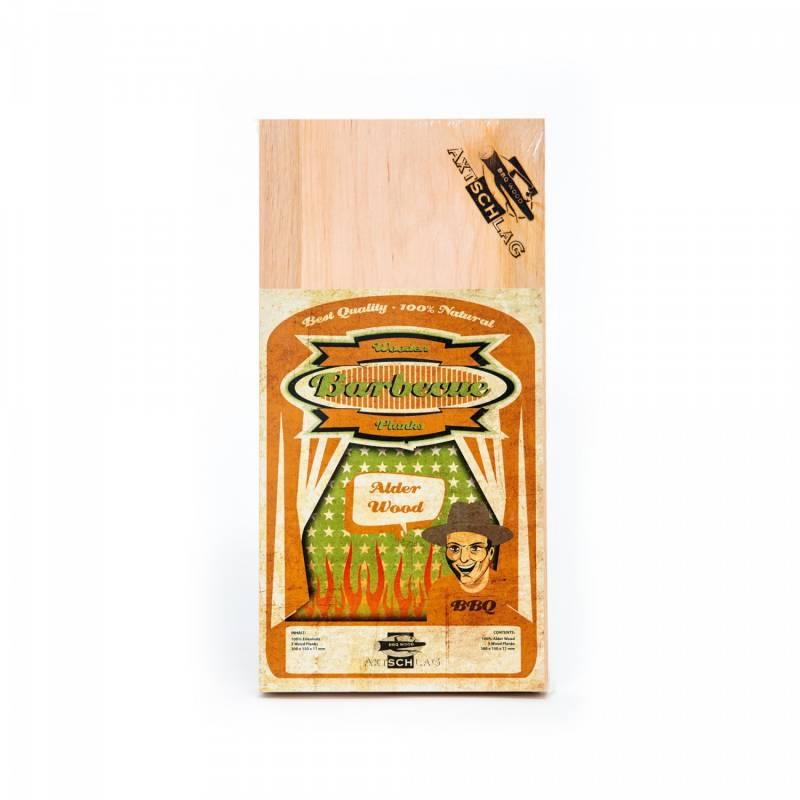 Axtschlag Räucherbretter (Wood Planks) 3er Pack Alder - Erle 30 x 15cm