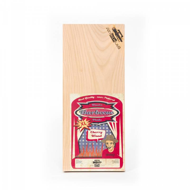 Axtschlag Räucherbretter (Wood Planks) 2er Pack Cherry - Kirsche XL  40 x 17cm