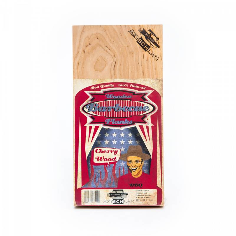 Axtschlag Räucherbretter (Wood Planks) Kirsche 3er Pack 30 x 15cm