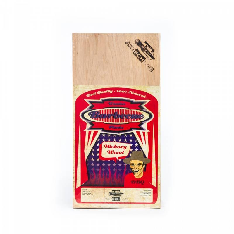 Axtschlag Räucherbretter (Wood Planks) 3er Pack Hickory 30 x 15cm