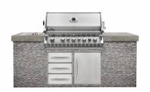 Napoleon Grill Insel mit Build In BIPRO665