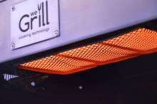Der WeGrill Pro S Keramik Infrarotbrenner mit bis zu 850°C
