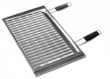 bio grillrost edelstahl komfort 60 x 40 cm. Black Bedroom Furniture Sets. Home Design Ideas