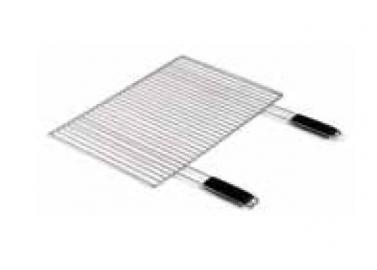 verchromter komfort grillrost 67 x 40 cm. Black Bedroom Furniture Sets. Home Design Ideas