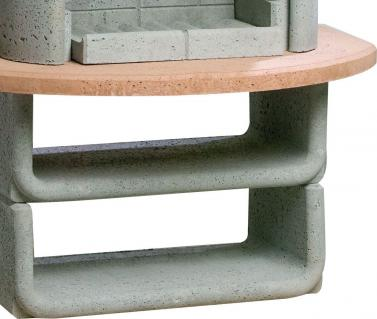 buschbeck grillkamin gartenkamin las palmas grau terra. Black Bedroom Furniture Sets. Home Design Ideas