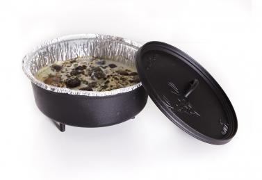 camp chef 10 dutch oven einwegschalen 3er set kaufen. Black Bedroom Furniture Sets. Home Design Ideas