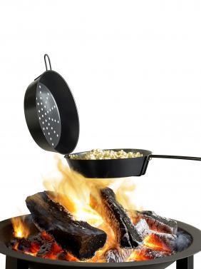 barbecook popcornpfanne anti haft beschichtete popcorn pfanne. Black Bedroom Furniture Sets. Home Design Ideas