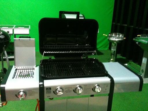 landmann grill chef gasgrillwagen 12729 b ware. Black Bedroom Furniture Sets. Home Design Ideas