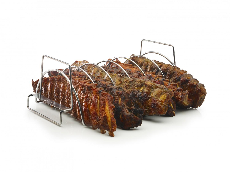 barbecook spare rib halter und bratenkorb. Black Bedroom Furniture Sets. Home Design Ideas