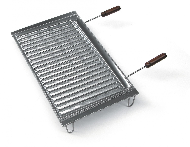 bio grillrost edelstahl mit f en 67 x 40 cm. Black Bedroom Furniture Sets. Home Design Ideas