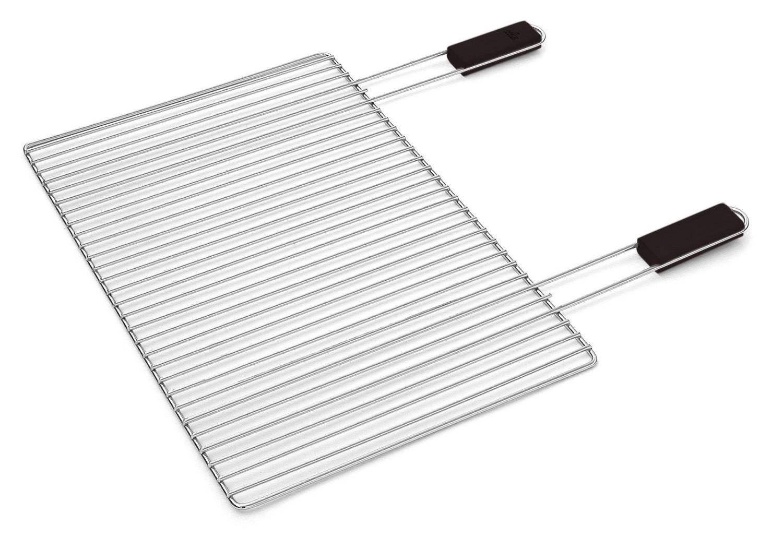 verchromter komfort grillrost 60 x 40 cm. Black Bedroom Furniture Sets. Home Design Ideas