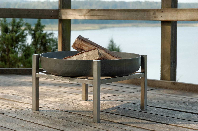 svenskav design feuerschale cube m. Black Bedroom Furniture Sets. Home Design Ideas