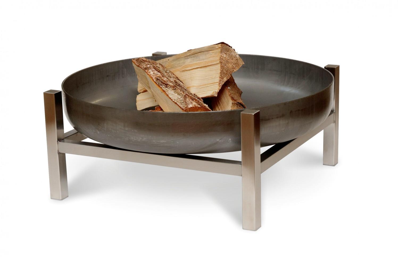 svenskav design feuerschale cube s. Black Bedroom Furniture Sets. Home Design Ideas