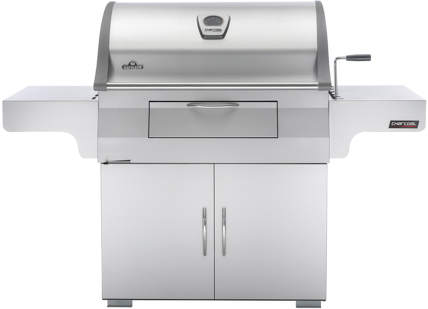 Napoleon Holzkohlegrill Anleitung : Napoleon charcoal professional edelstahl holzkohlegrill pro css