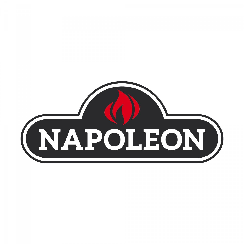 Napoleon PRO Edelstahl Pinsel mit Silikonborsten