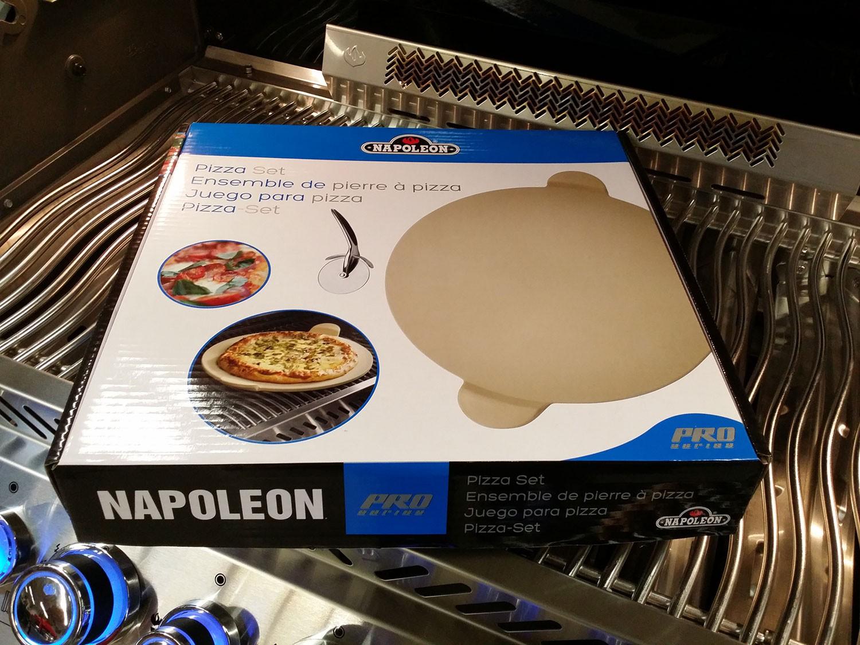 Weber Elektrogrill Mit Pizzastein : Napoleon pizzastein mit pizzaschneider