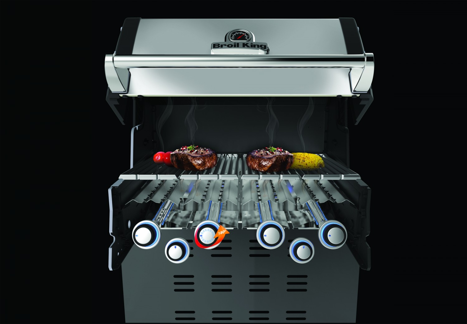 Spareribs Gasgrill Broil King : Broil king regal pro inkl drehspieß motor