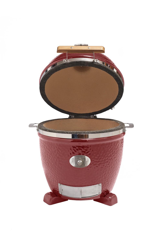 monolith grill junior red ohne gestell mg13rnc set neu 2016 kaufen keramik grill kamado grill. Black Bedroom Furniture Sets. Home Design Ideas