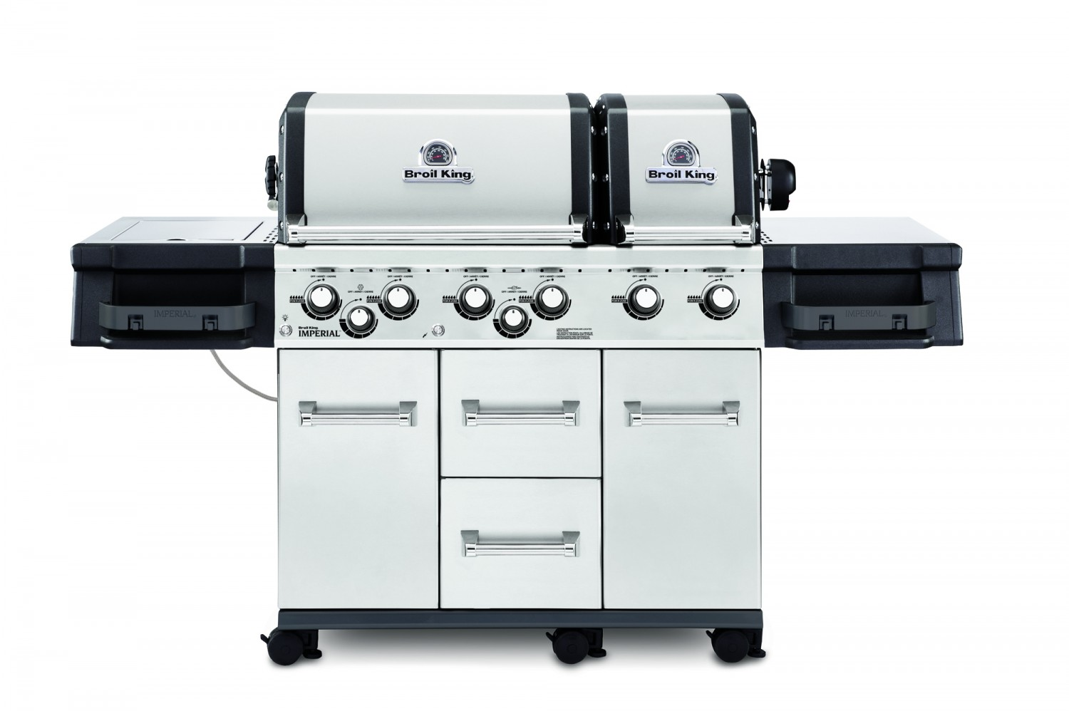 Gas Oder Holzkohlegrill Xl : Broil king sovereign xl gasgrill