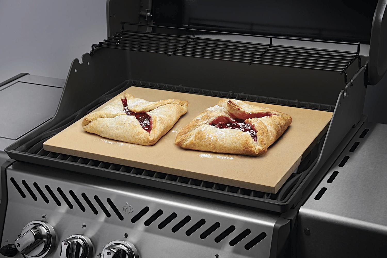 Pizzastein Für Gasgrill : Napoleon pizzastein rechteckig cm