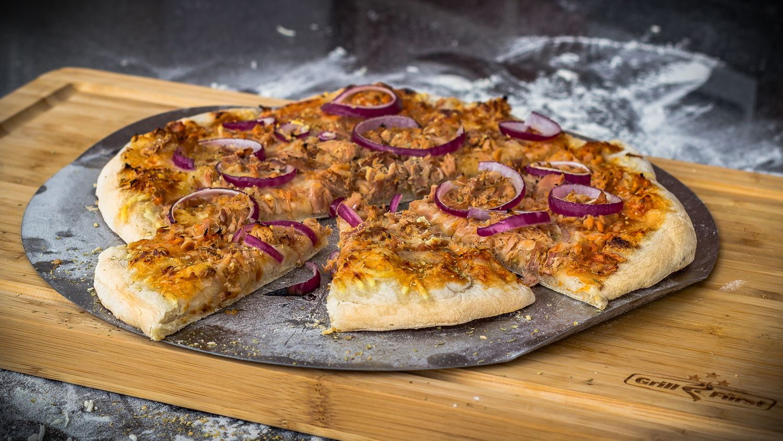 Pizzastein Für Gasgrill Landmann : Grillfürst pizzastein aus cordierit 33 cm
