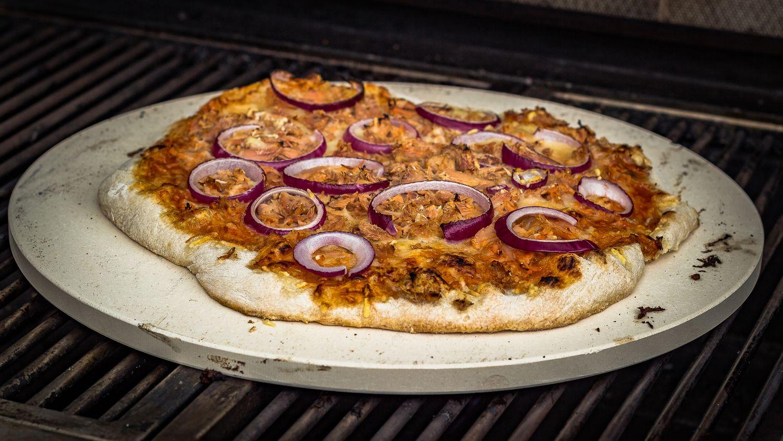 Pizzastein Für Gasgrill Landmann : Grillfürst pizzastein aus cordierit cm
