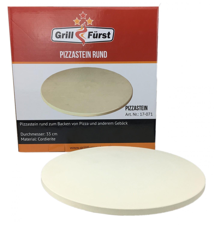 grillf rst pizzastein aus cordierit 33 cm. Black Bedroom Furniture Sets. Home Design Ideas