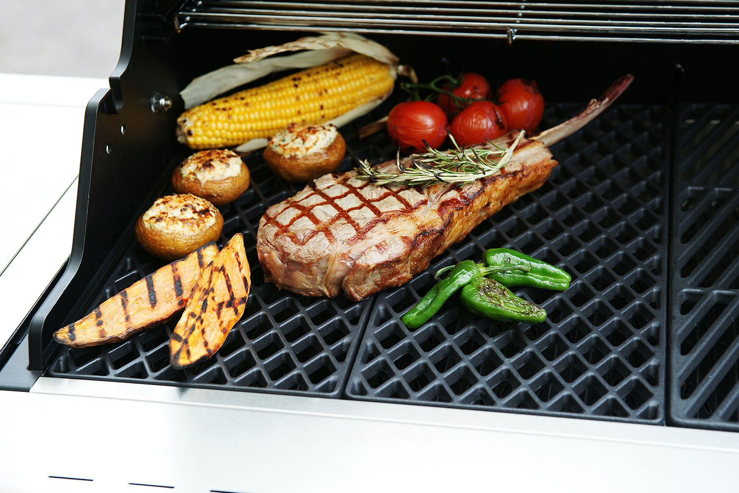 Weber Holzkohlegrill Mit Gussrost : Gussrost oldmountainbbq