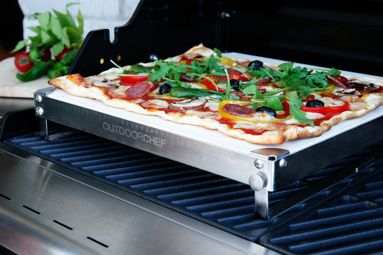 Pizzastein Für Elektrogrill Weber : Outdoorchef dgs pizzastein kaufen