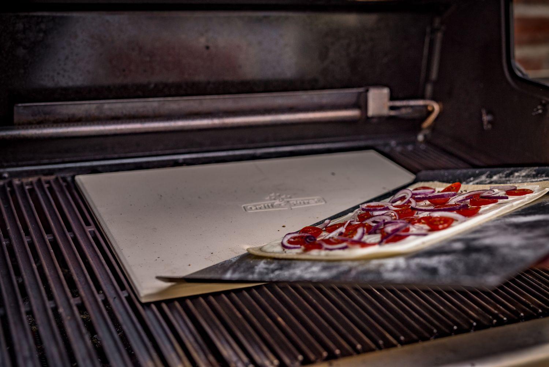 Landmann Gasgrill Pizzastein : Grillfürst pizzastein rechteckig abmessungen cm kaufen
