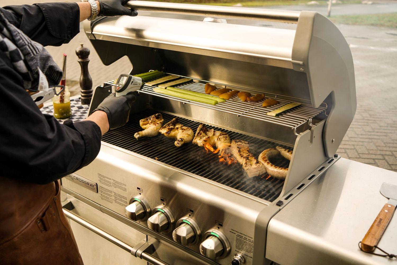 Outdoorküche Mit Gasgrill Cover : Heatstrip gasgrill
