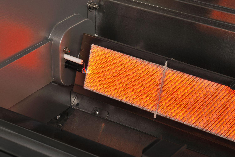 Rösle Gasgrill Mit Infrarotbrenner : Heatstrip crossray brenner gasgrill mit unterschrank tcs eu