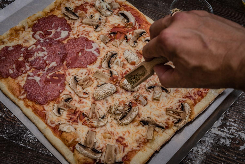 Landmann Gasgrill Pizzastein : Grillfürst pizzastein eckig cm mit pizzablech