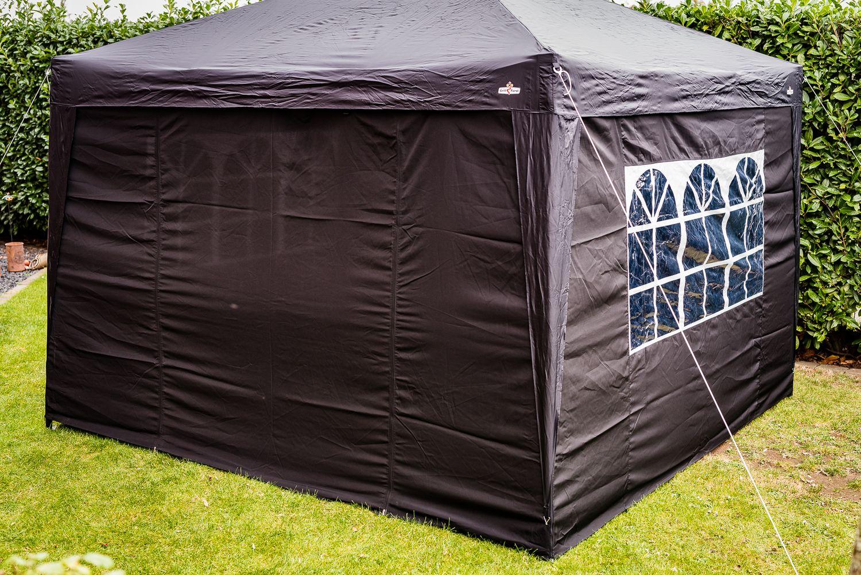 grillf rst seitenw nde f r 3x3m pavillon 4er set. Black Bedroom Furniture Sets. Home Design Ideas