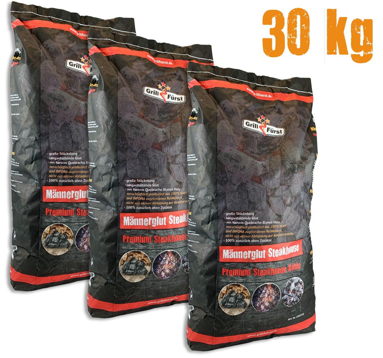 Dancook Premium Holzkohle 2 x 10 Kg Holzkohle Grillkohle Barbecue Kohle