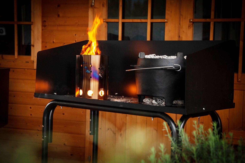 Grillfurst Dutch Oven Station Dutch Oven Tisch Mit Windschild