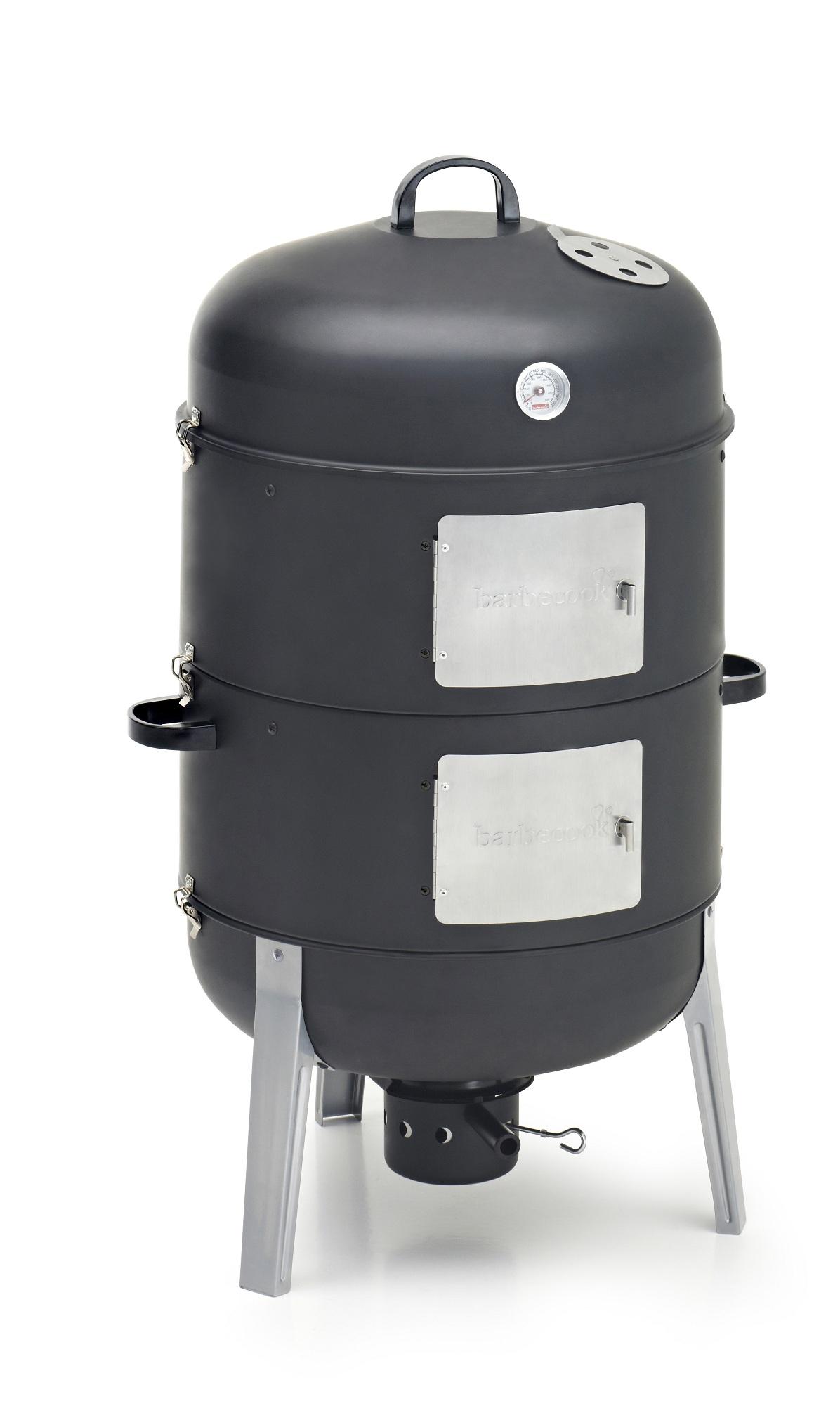 barbecook smoker xl r ucherofen kleinster mobiler gasgrill. Black Bedroom Furniture Sets. Home Design Ideas