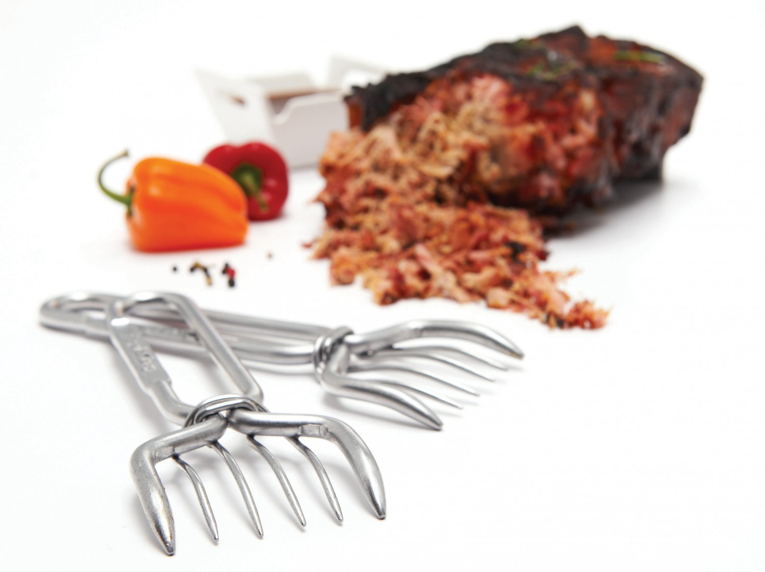 Cobb Gasgrill Pulled Pork : Pulled pork gabeln er set von broil king