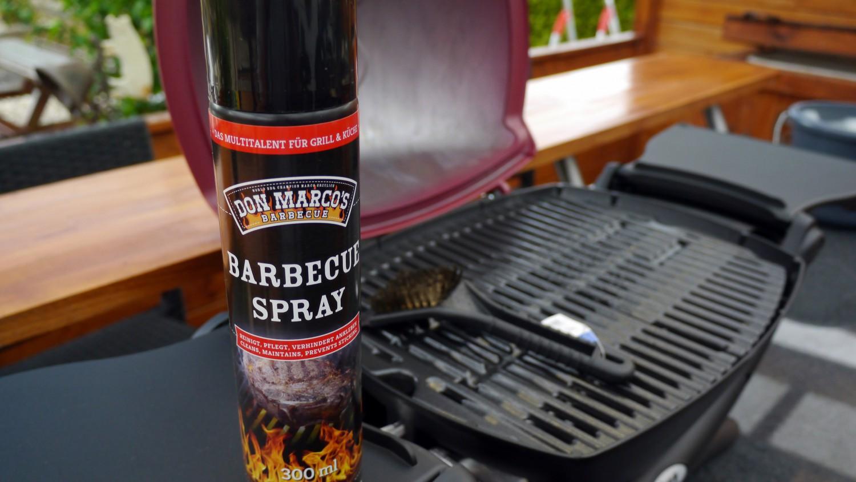 Weber Elektrogrill Einfetten : Don marco´s barbecue spray 300ml das erste bbq plegespray für