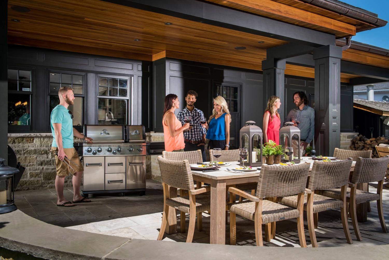 Außenküche Mit Xl : Broil king imperial 690 xl pro modell 2019